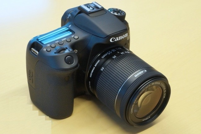 Canon EOS 70D – SLR camera for shooting video
