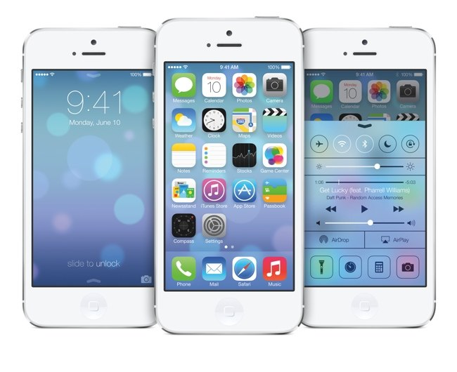 Overview of the operating system from Apple iOS 7
