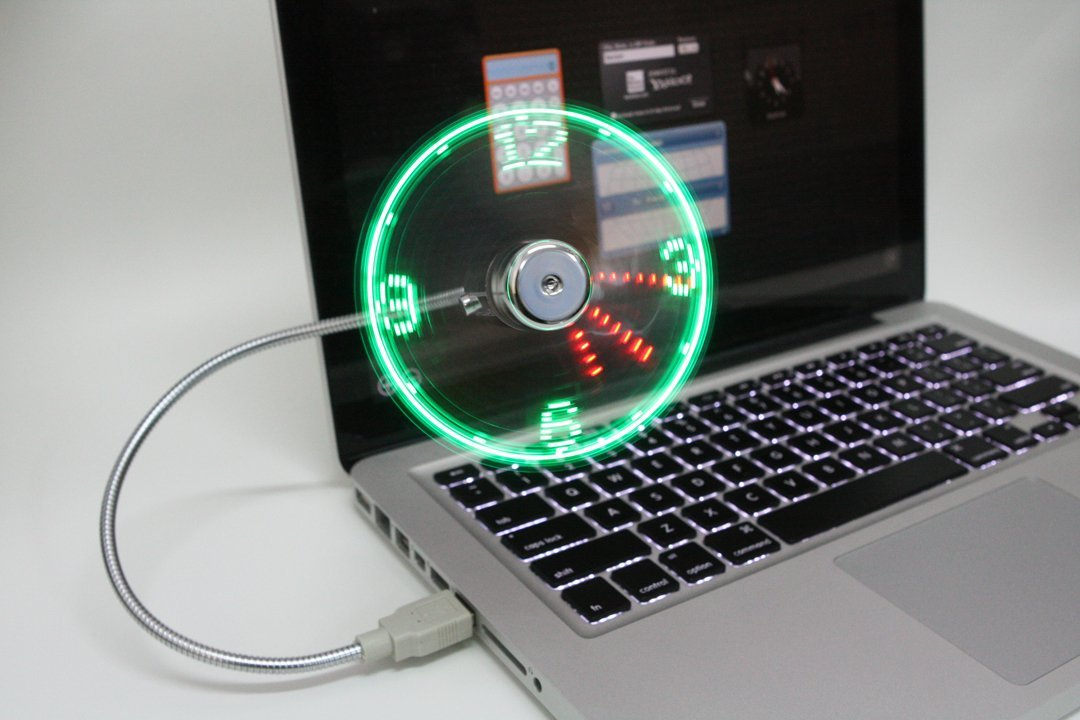 Image Result For Usb Fan With Clock