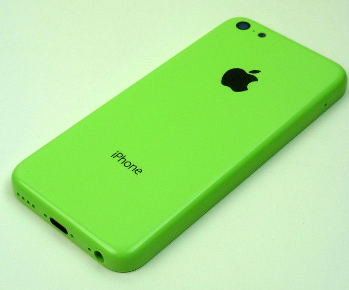 photos apple iphone 5c in green housing. Black Bedroom Furniture Sets. Home Design Ideas