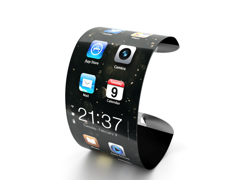 Hi-tech News: Samsung has patented flexible watches
