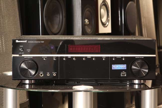 Sherwood R-807 – AV-receiver, friendly to the iOS-devices