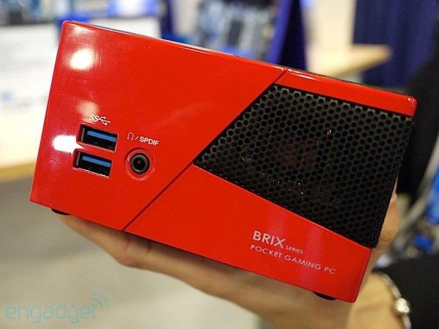 brix portable gaming pc from gigabyte. Black Bedroom Furniture Sets. Home Design Ideas
