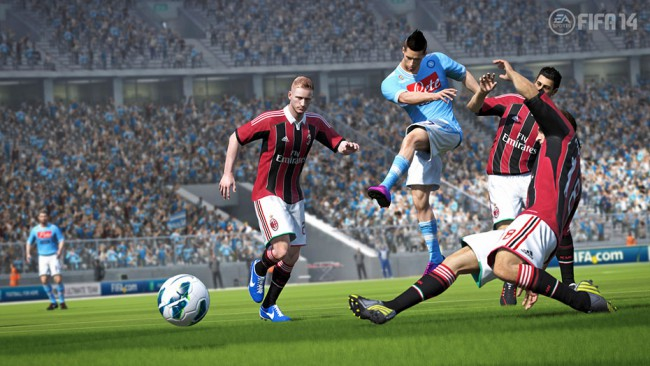 FIFA 14 Review: well, very heavy ball