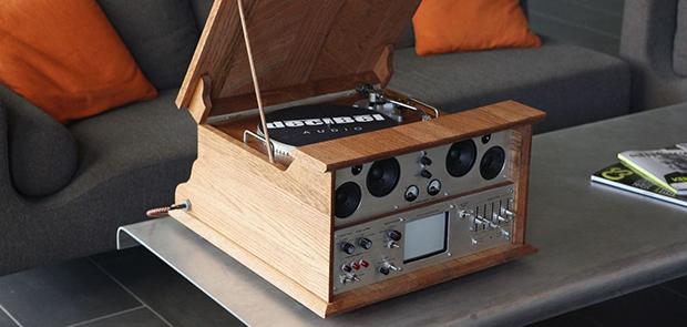 Audio Infuser 4700 Creative Media Centre In Retro Style