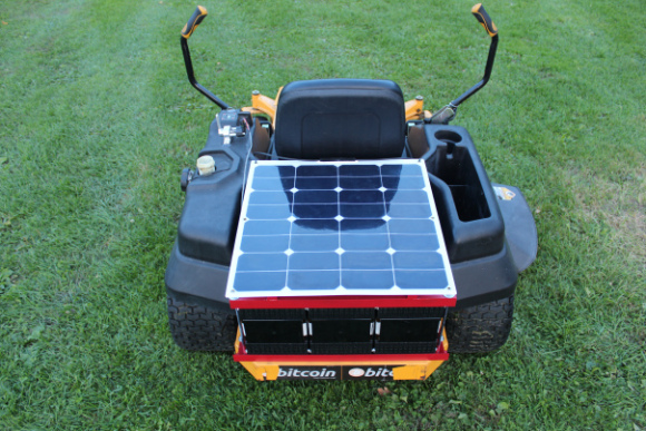 Home Made Electric Lawn Mower