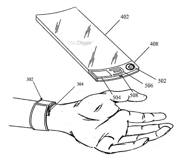 Hi Tech News Iwatch Will Have A Flexible Oled Display With A