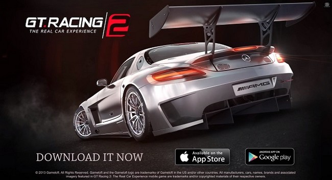 Racing simulation gt racing 2 is now available in the app store and