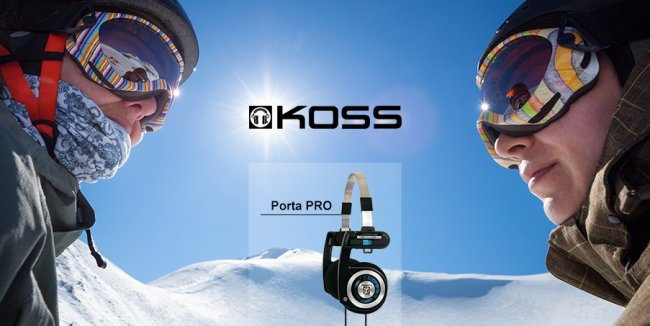 Koss Porta Pro – an overview of the legendary headphones and drawing Sporta Pro