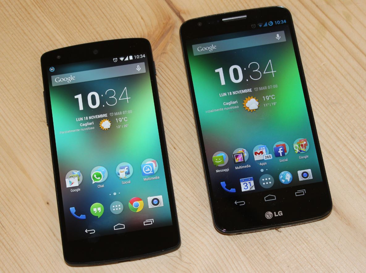 LG G2 in Korea KitKat short and global roll-out within 2