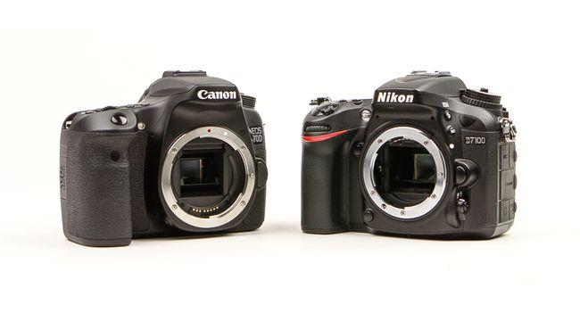 Canon 70D vs Nikon D7100: APS-war leaders