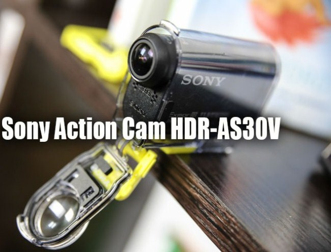 Sony Action Cam HDR-AS30V – correct action camera