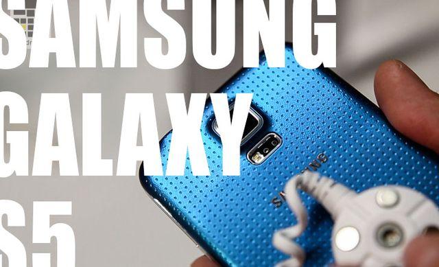[MWC 2014] Samsung Galaxy S5 – personal acquaintance