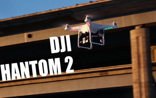 Quadrocopter DJI PHANTOM 2 – 18 + drone