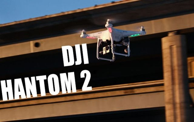 Quadrocopter DJI PHANTOM 2 – 18 + drone