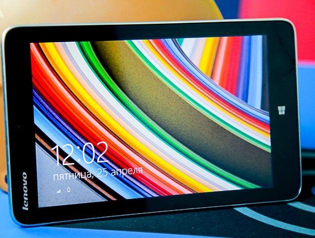 Lenovo Miix 2 8: small tablet with live tile