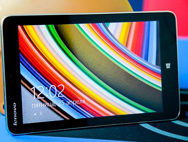 Lenovo Miix 2 8: small tablet with live tile