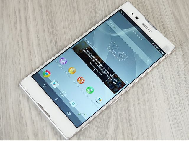 Review Sony Xperia T2 Ultra Dual: LTE or Dual SIM?