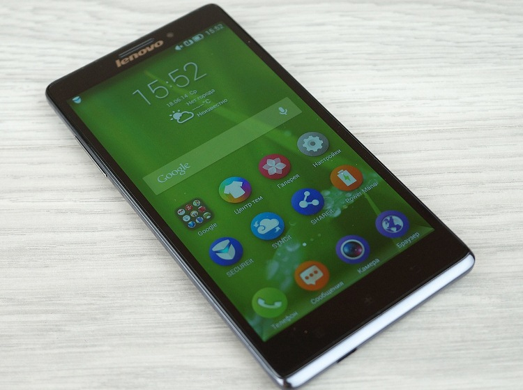 Review smartphone of the Lenovo Vibe Z: a ​​step forward or to the side …?
