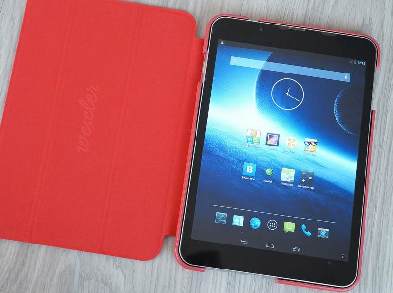 Review Wexler Tab 8q: two SIM-cards eight inches