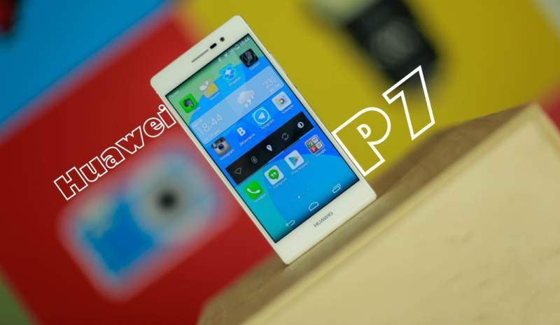 Smartphone review – Huawei Ascend P7