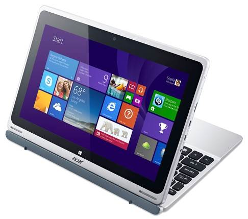 Hybrid laptop of the review Acer Aspire Switch 10