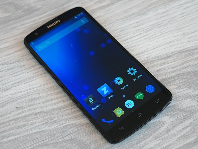 Review of the smartphone Philips I928