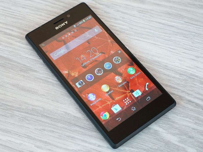 Review Sony Xperia M2 Dual: simple and tasteful
