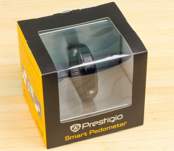 Review bracelet-pedometer Prestigio Smart Pedometer