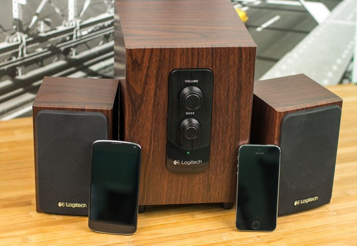 "Review of Logitech Multimedia Speakers Z443 – ""wooden Symphony!"""