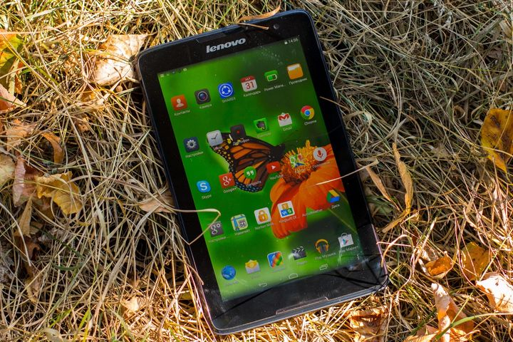 Review of the tablet Lenovo Tab A8
