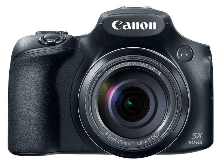Announcement of Canon PowerShot SX60 HS