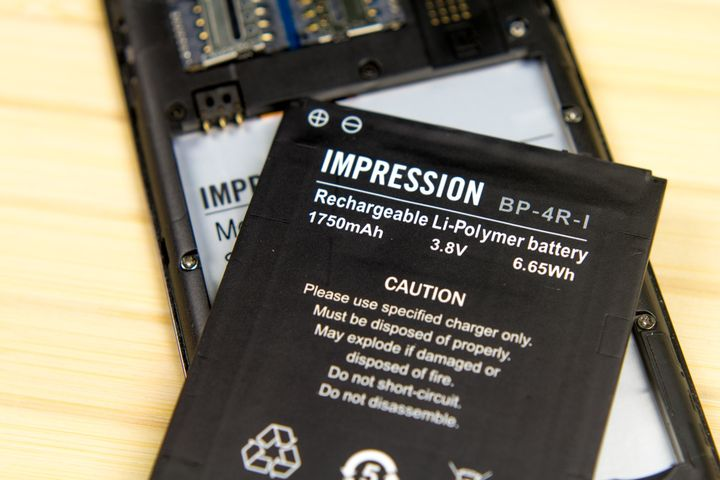 "Impression ImSMART S471 review: ""smart credit card!"""