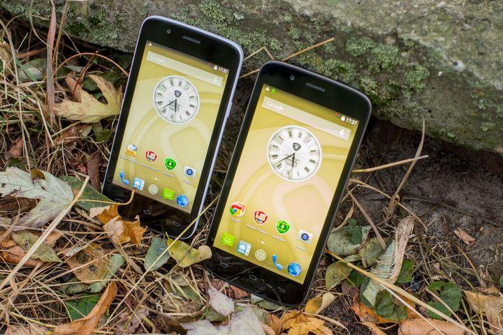 Review smartphones of the Prestigio MultiPhone 5504 DUO and 5453 DUO