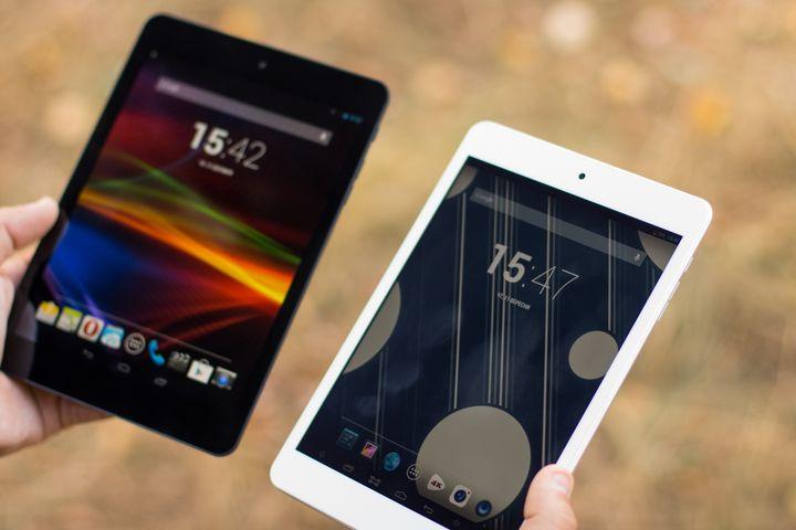 "Review top tablets 2014 Prestigio MultiPad 4 Quantum 7.85 vsImpression ImPAD 2313 ""duel ambitions"""