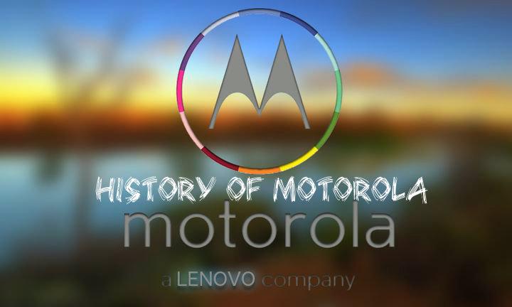 History of Motorola