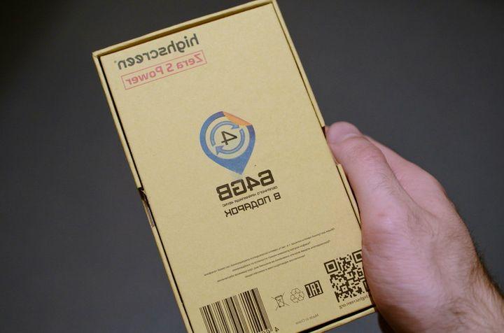 Overview Highscreen Zera S Power - tenacious smartphone