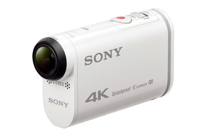CES 2015. The announcement of Sony FDR-X1000V and HDR-AS200V