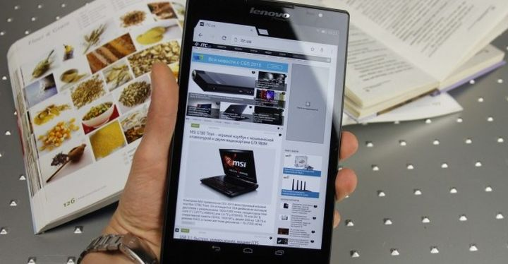 Review of Android-tablet Lenovo Tab S8-50