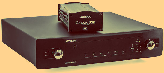Overview of the DAC Astin Trew Concord DAC 1 USB: Lamp debugging digital audio