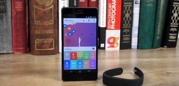 Review of bracelet Sony SmartBand SWR10