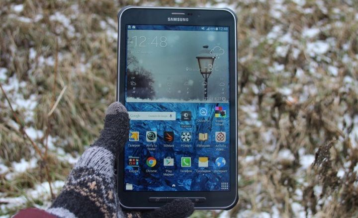 IP67-protected tablet - Samsung Galaxy Tab Active review