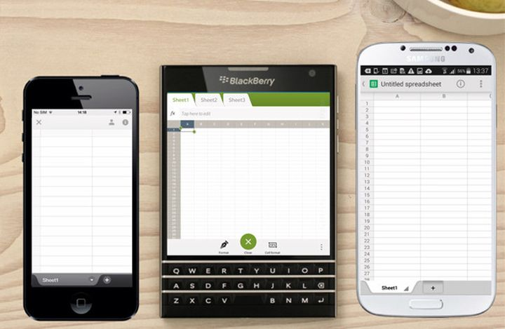 Review of the smartphone BlackBerry Passport: Device business destination