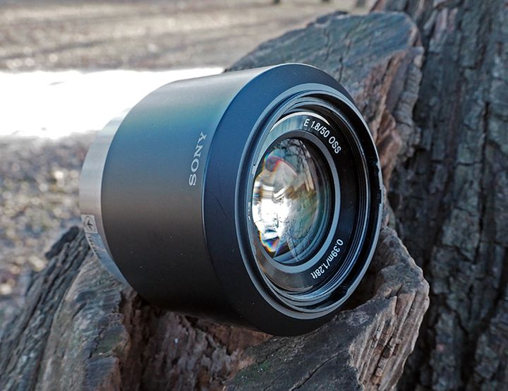 Review Sony E 50mm f / 1.8 OSS - Practical autofocus aperture fixed bayonet E