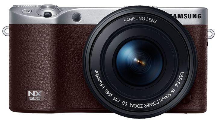 New 2015 Samsung NX500: 28-megapixel APS-C matrix and video in 4K