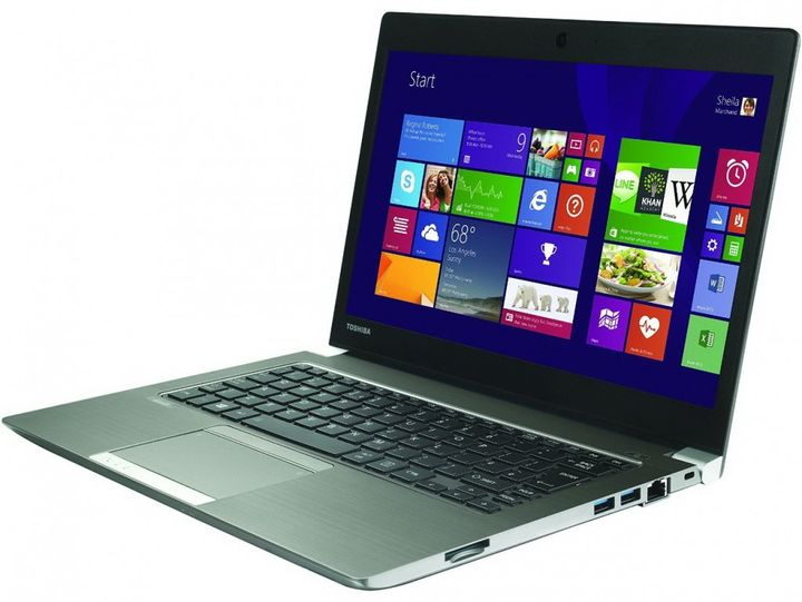 New Toshiba Satellite Z30-B-100: 16 hours of battery life for 1100 euro