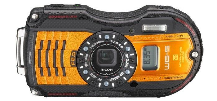 New Waterproof RICOH WG-5 GPS