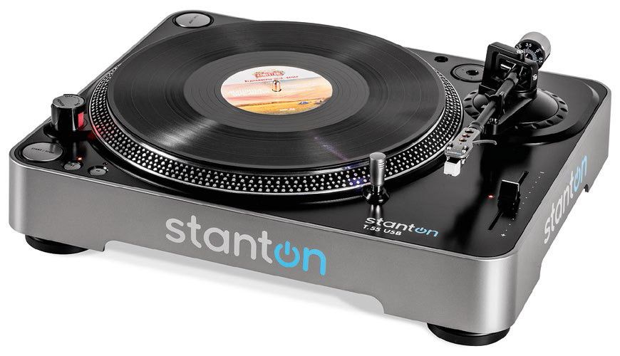 turntables stanton t 55 usb review