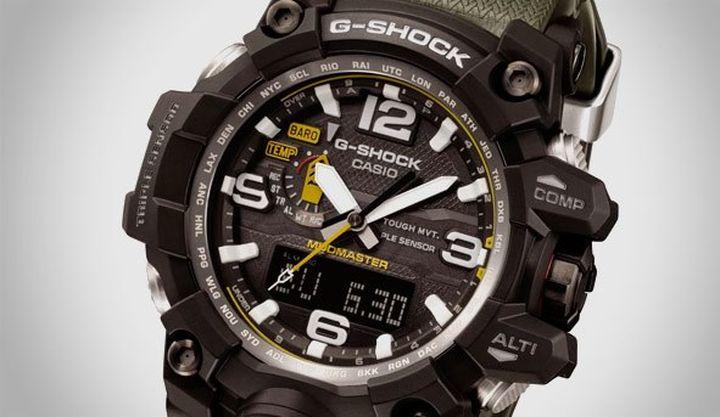 Durable and functional WATCH CASIO G-Shock MudMaster GWG-1000