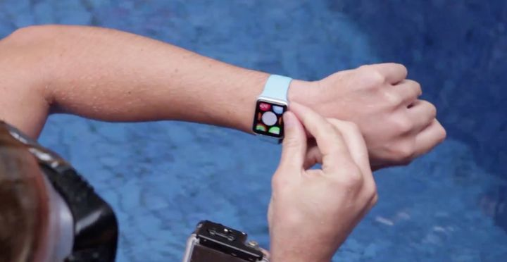 The Apple Watch You can take a shower and swim in the pool